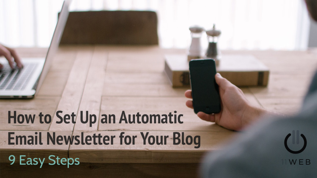 Set up an automatic RSS email for blog