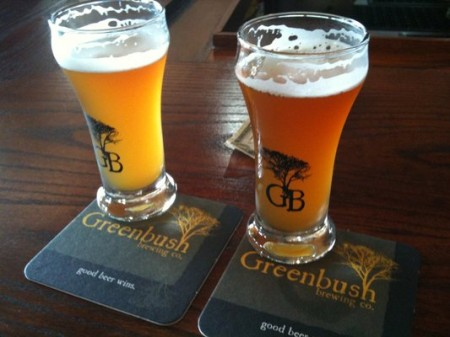 Greenbush Brewing brewery marketing