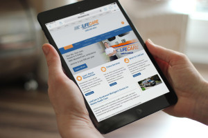 LifeCare Ambulance website