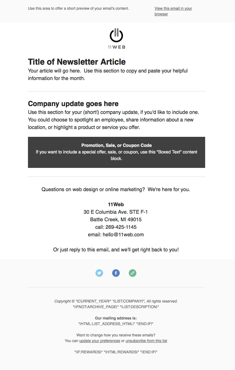 how to send an awesome email newsletter in just 30 minutes a month