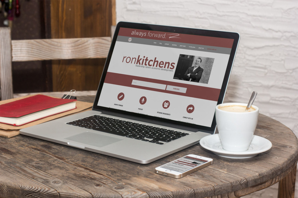 Ron Kitchens website design