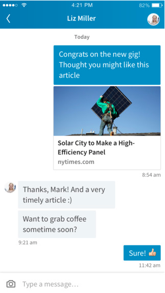 Quick and Easy LinkedIn Messaging