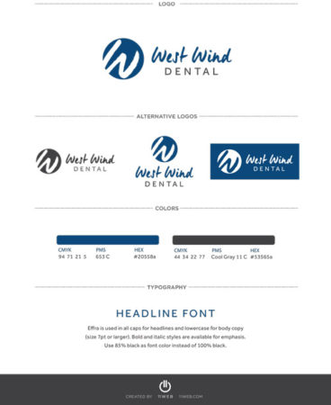 West Wind Dental Visual Identity Guide