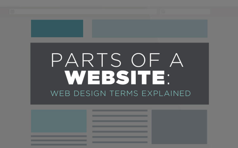 Parts of a Website: Web Design Terms Explained